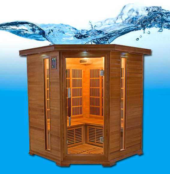 LUXE 3/4 places sauna infrarouge