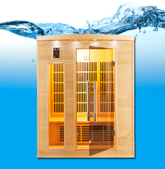 APOLLON 3 P Infrarouge sauna