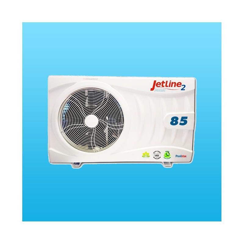 Jetline2 85 65m3max pompe a chaleur piscine for Consommation pompe a chaleur piscine