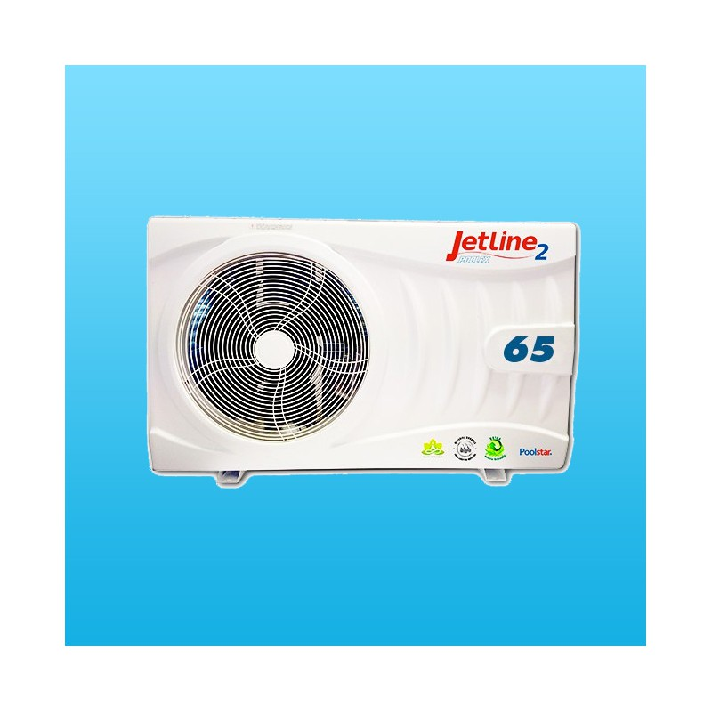 Jetline2 65 pour 45m3max pompe a chaleur piscine for Puissance pompe a chaleur piscine